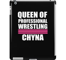 Queen of Pro Wrestling iPad Case/Skin