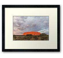 The Heart of Australia Framed Print