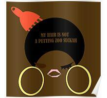 DTTF: Don't The 'Fro (Melanin) Poster