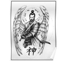 St. Michael the Archangel Samurai Poster