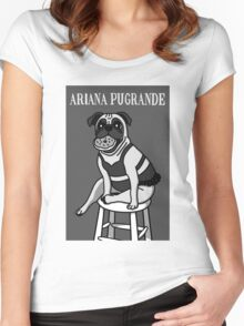 Ariana Pugrande Women's Fitted Scoop T-Shirt