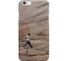 Rock Jogger at Peggy's Cove iPhone Case/Skin