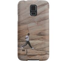 Rock Jogger at Peggy's Cove Samsung Galaxy Case/Skin
