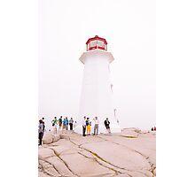 Lighthouse Language Photographic Print
