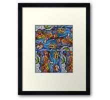 Look Up Wake Up Framed Print