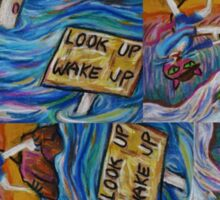 Look Up Wake Up Sticker