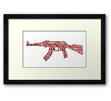 Peace Weapon Framed Print