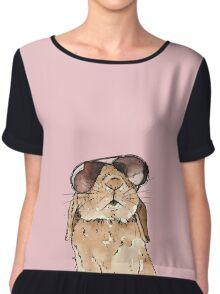 Glamorous Rabbit Chiffon Top