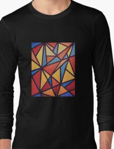 90s mosaic Long Sleeve T-Shirt