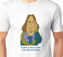 Oscar Wilde - Take A Walk On The Wilde Side - Let's Rock Randy Writers Range Unisex T-Shirt
