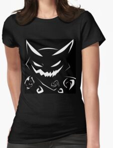 Ghost Type Pokemon: Haunter Womens Fitted T-Shirt