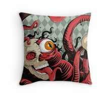 IT wore many masks... Throw Pillow