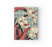 IT wore many masks... Hardcover Journal