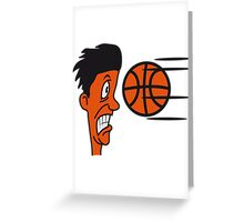 Basketball sports funny cool Greeting Card