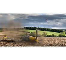 Crash-landing Bf 109 Photographic Print