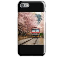 Cherry Blossom Station iPhone Case/Skin