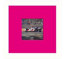 24 h de Le Mans - Vintage - #11 Art Print
