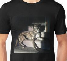 Brindle puppy dog Unisex T-Shirt