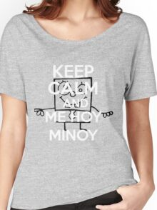 ME HOY MINOY Women's Relaxed Fit T-Shirt