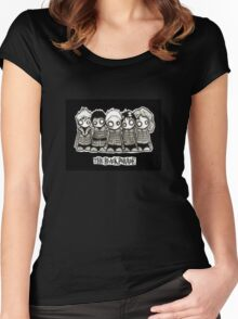 Chibi Black Parade Women's Fitted Scoop T-Shirt