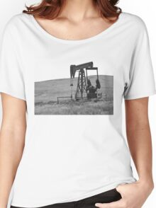 Pumpin' Crude Women's Relaxed Fit T-Shirt