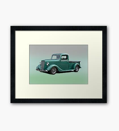 1935 Ford Pick-Up Truck Framed Print