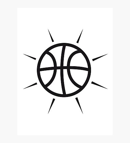 Basketball sports tournament ball Photographic Print