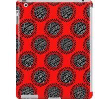 Seed head on red iPad Case/Skin