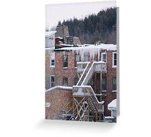 Hanging Ice Greeting Card