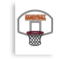Basketball sports basket Canvas Print