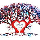 Heartfelt Thanks - Tree by Linda Callaghan