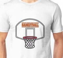 Basketball sports basket Unisex T-Shirt