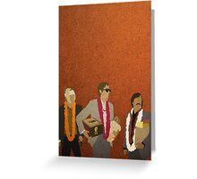 Jack, Francis & Peter Greeting Card