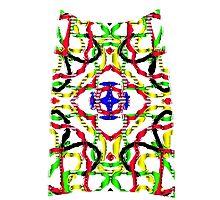 3D mandala Photographic Print