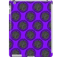 Seed heads in purple iPad Case/Skin