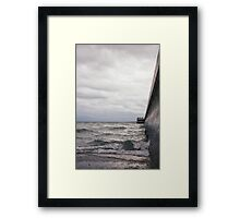 Breaking Lake Ontario Framed Print