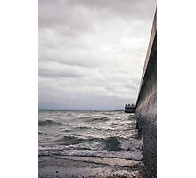 Breaking Lake Ontario Photographic Print