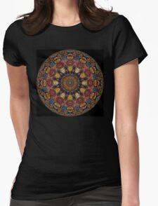 Ayahuasca Mandala Womens Fitted T-Shirt