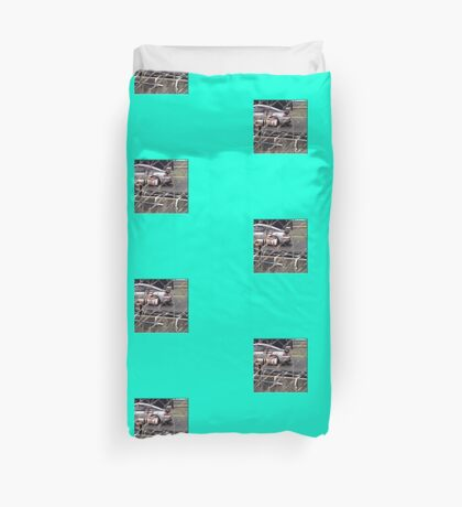 24 h de Le Mans - Vintage - Take a Picture Duvet Cover