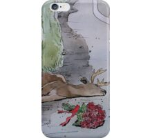 Fallen Deer iPhone Case/Skin