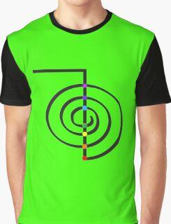 Reiki Chakras Graphic T-Shirt