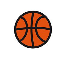 Basketball sport ball Photographic Print