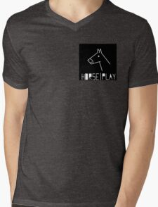 Just a bit of horse play Mens V-Neck T-Shirt