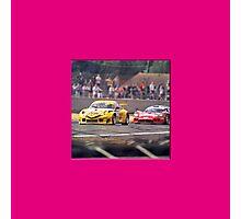 24 h de Le Mans - Vintage - Porsche Photographic Print
