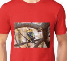 Kuifkophoutkapper / Crested barbet Unisex T-Shirt