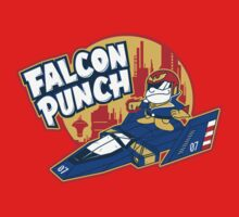 Falcon Punch by amandaflagg