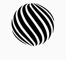 Abstract swirl sphere - version 1 - black Unisex T-Shirt
