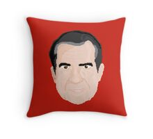 Richard Pixon Throw Pillow