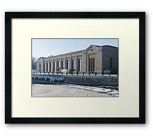 R.C. Harris Water Filtration Plant, Toronto Framed Print