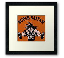 Super Saiyan Goku Dragon Ball Z Framed Print